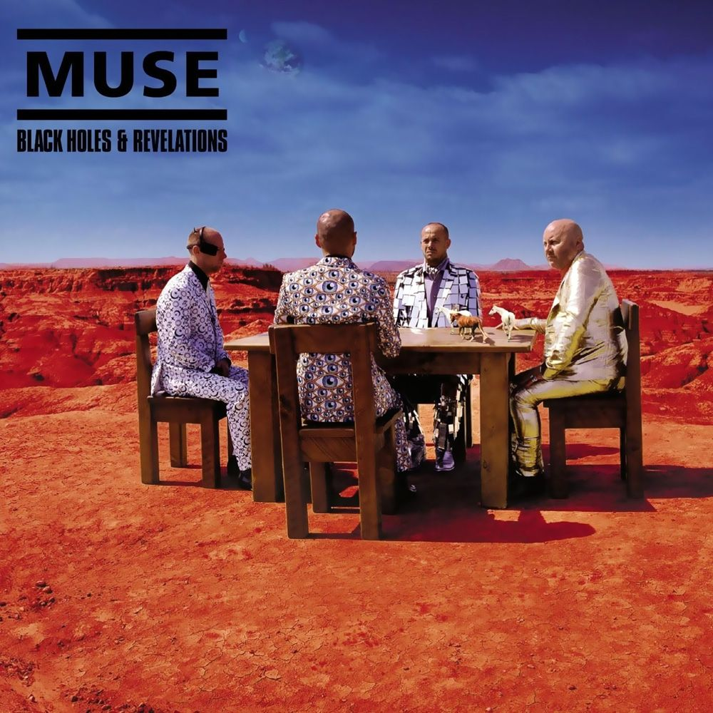 Muse - Black Holes And Revelations album cover