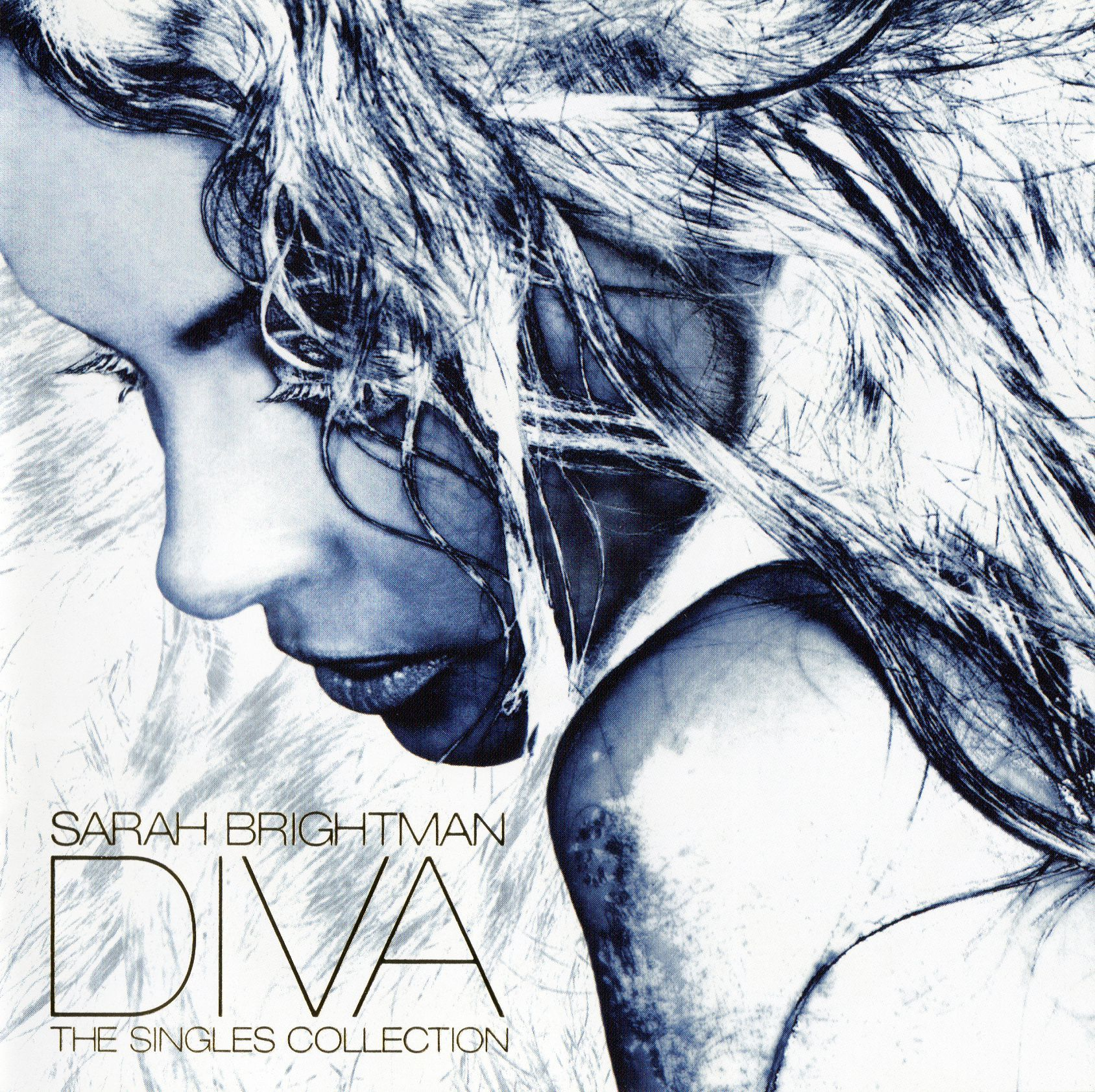 Sarah Brightman - Diva: The Singles Collection album cover