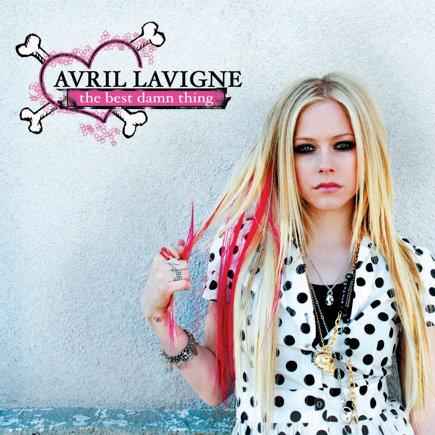 Avril Lavigne - The Best Damn Thing album cover