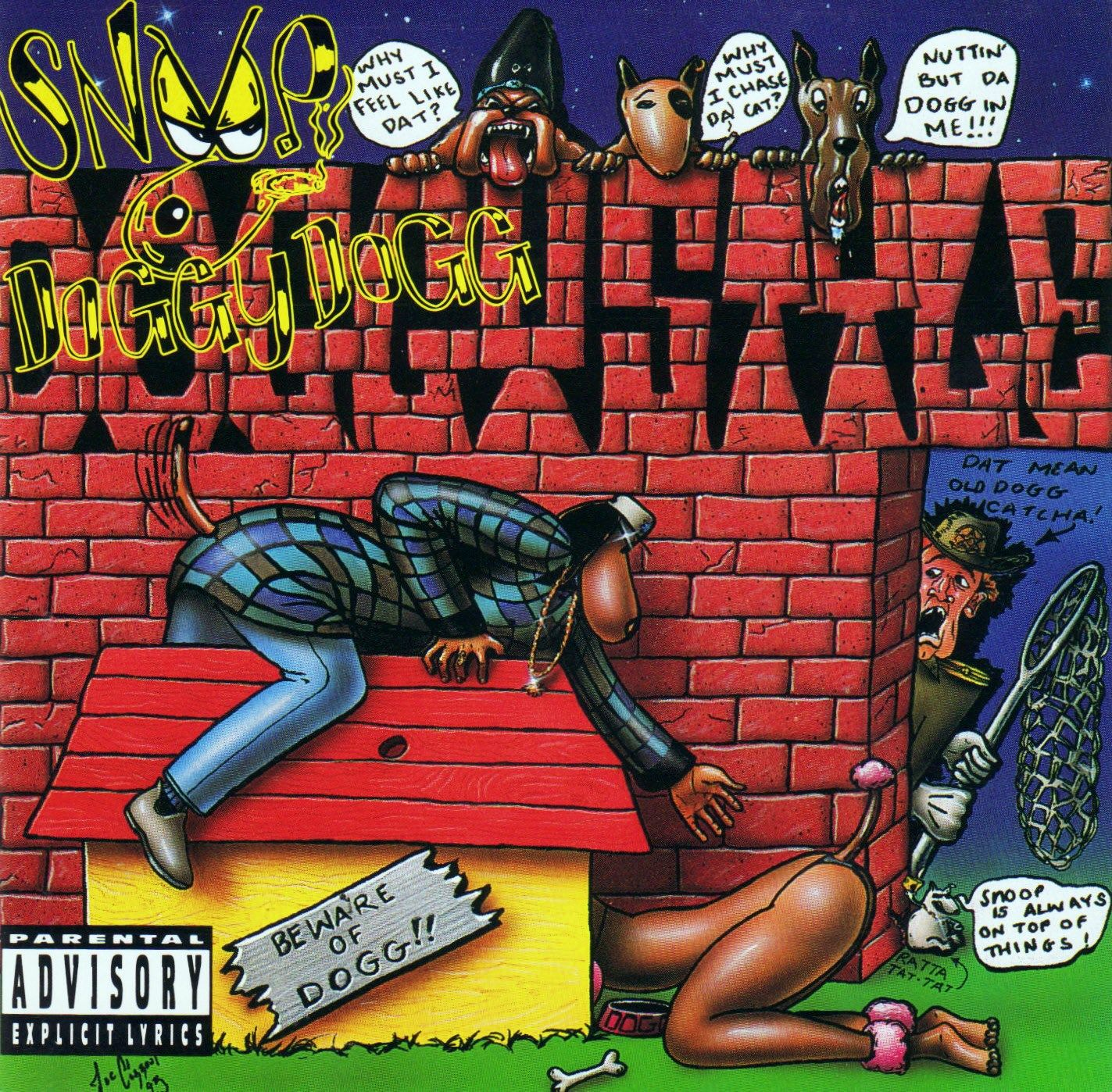 Snoop Dogg - Doggystyle album cover
