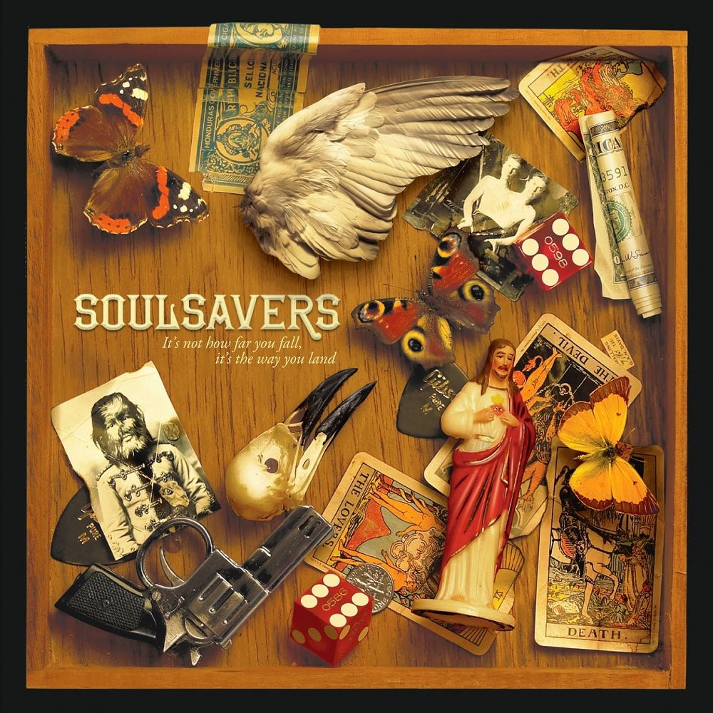 Soulsavers - It's Not How Far You Fall, It's The Way You Land album cover