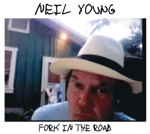 Neil Young - Fork In The Road album cover