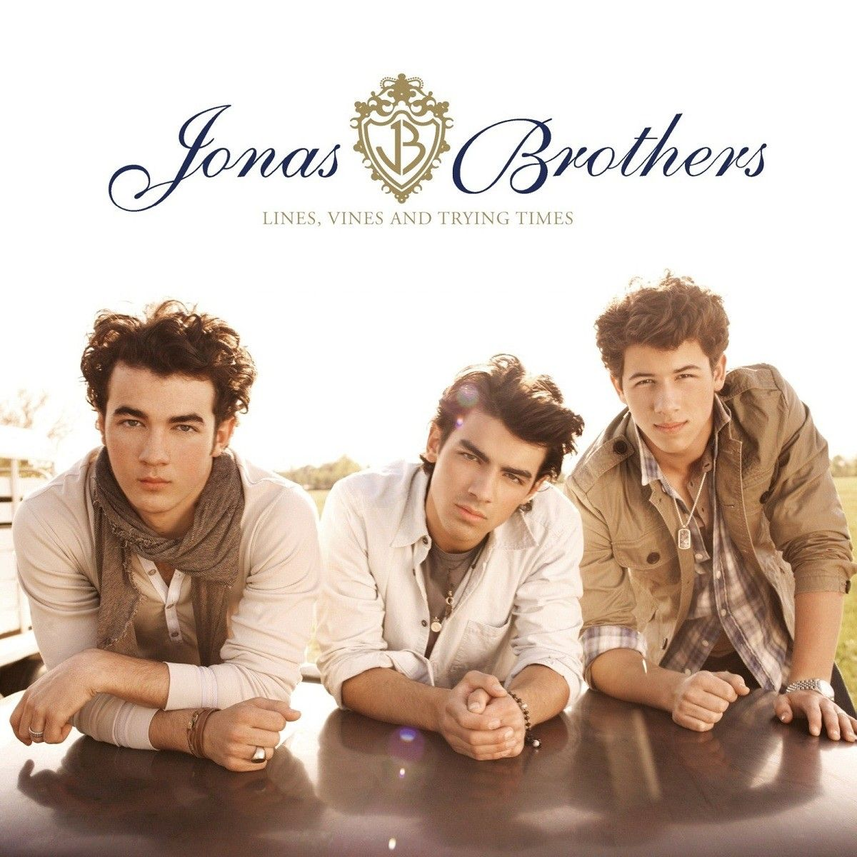 Jonas Brothers - Lines, Vines And Trying Times album cover