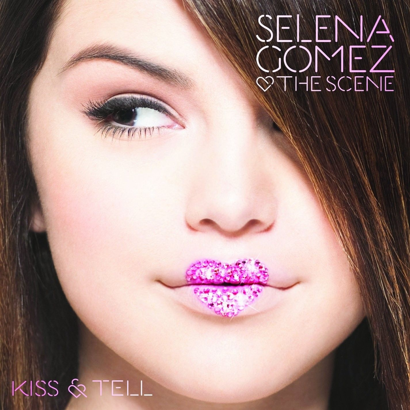 Selena Gomez & The Scene - Kiss And Tell album cover