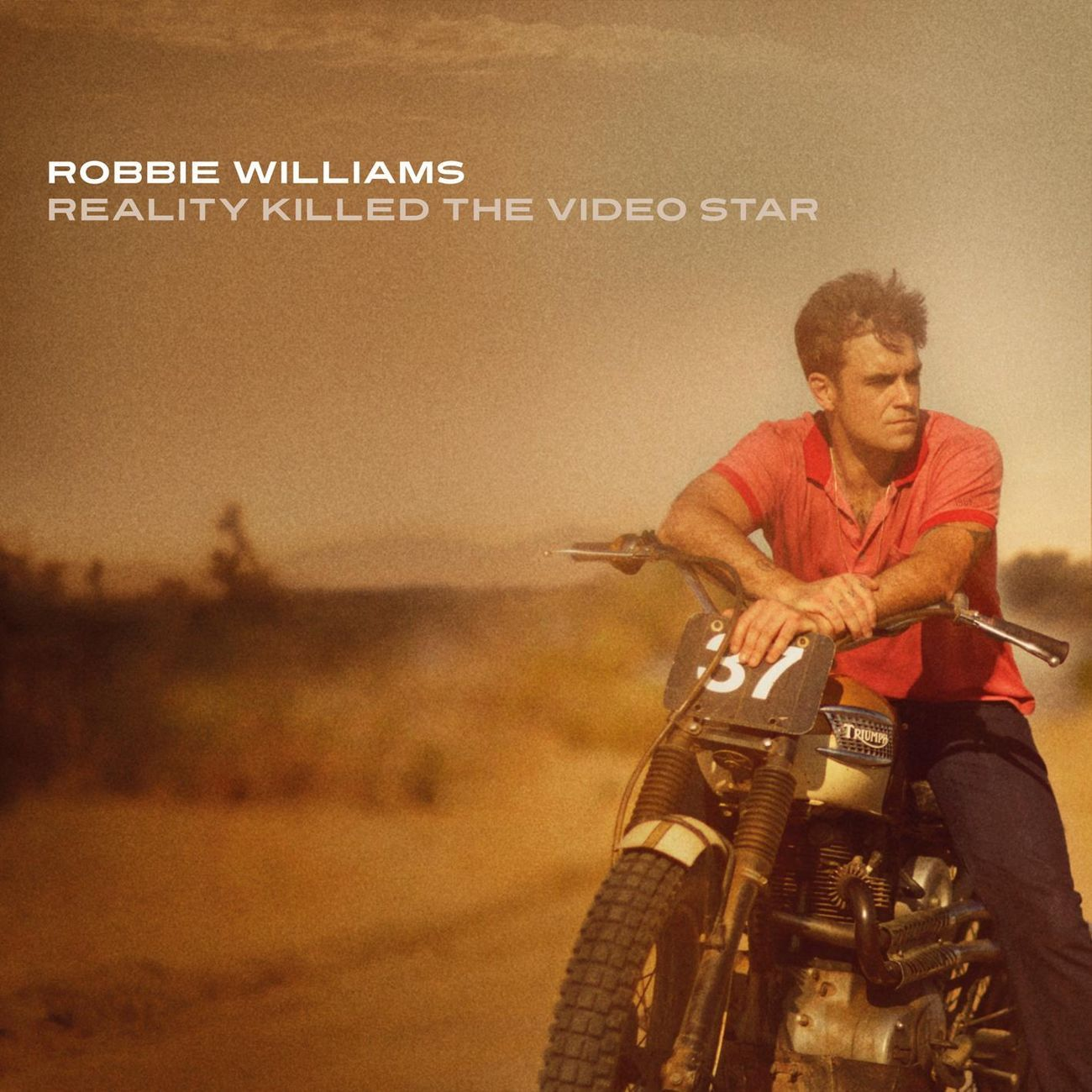 Robbie Williams - Reality Killed The Video Star album cover
