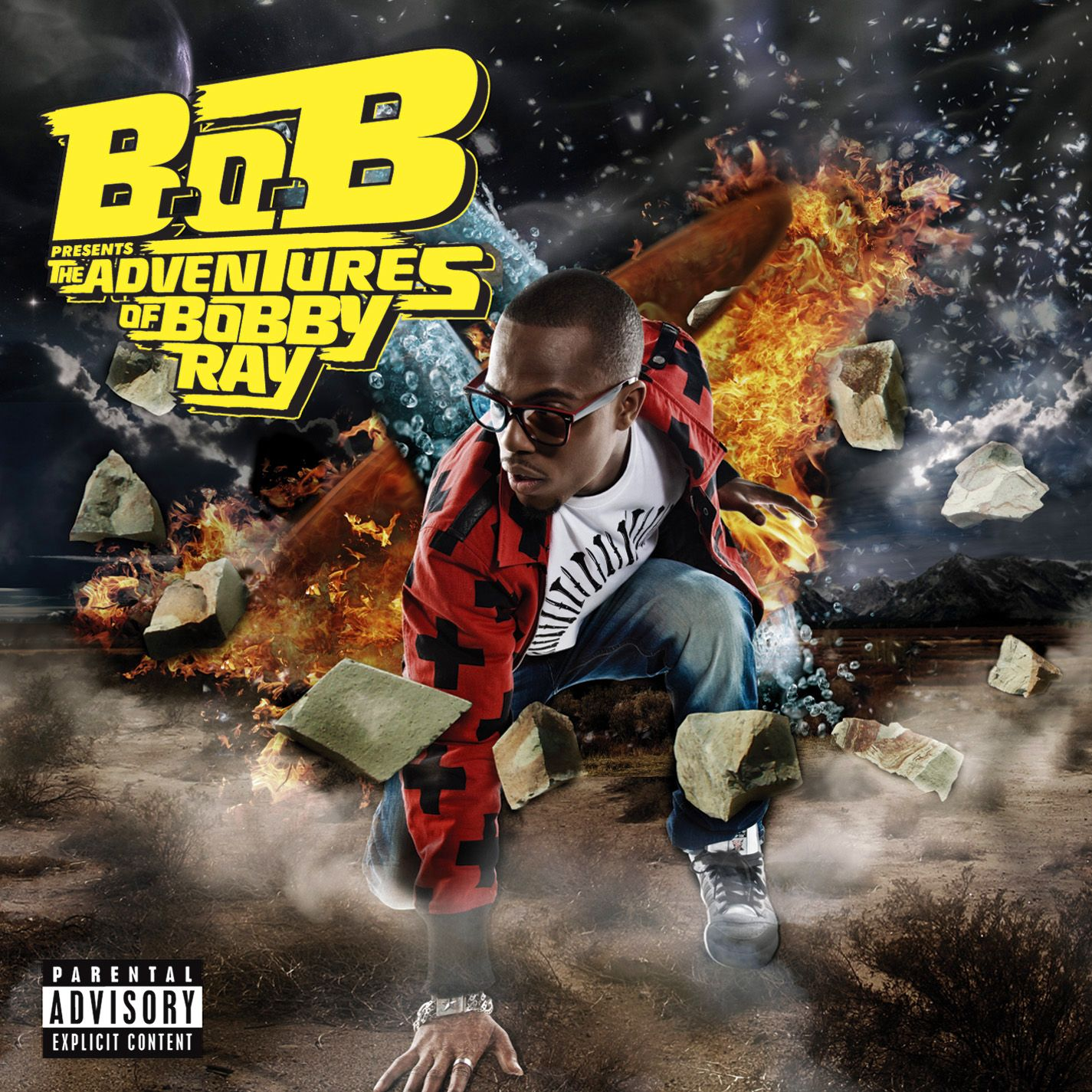 B.o.B - B.o.b Presents: The Adventures Of Bobby Ray album cover