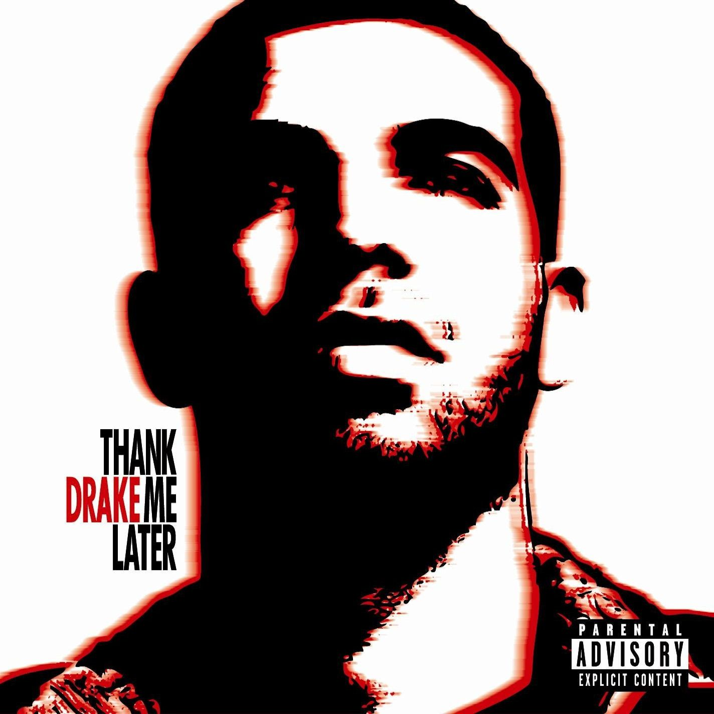 Drake - Thank Me Later album cover