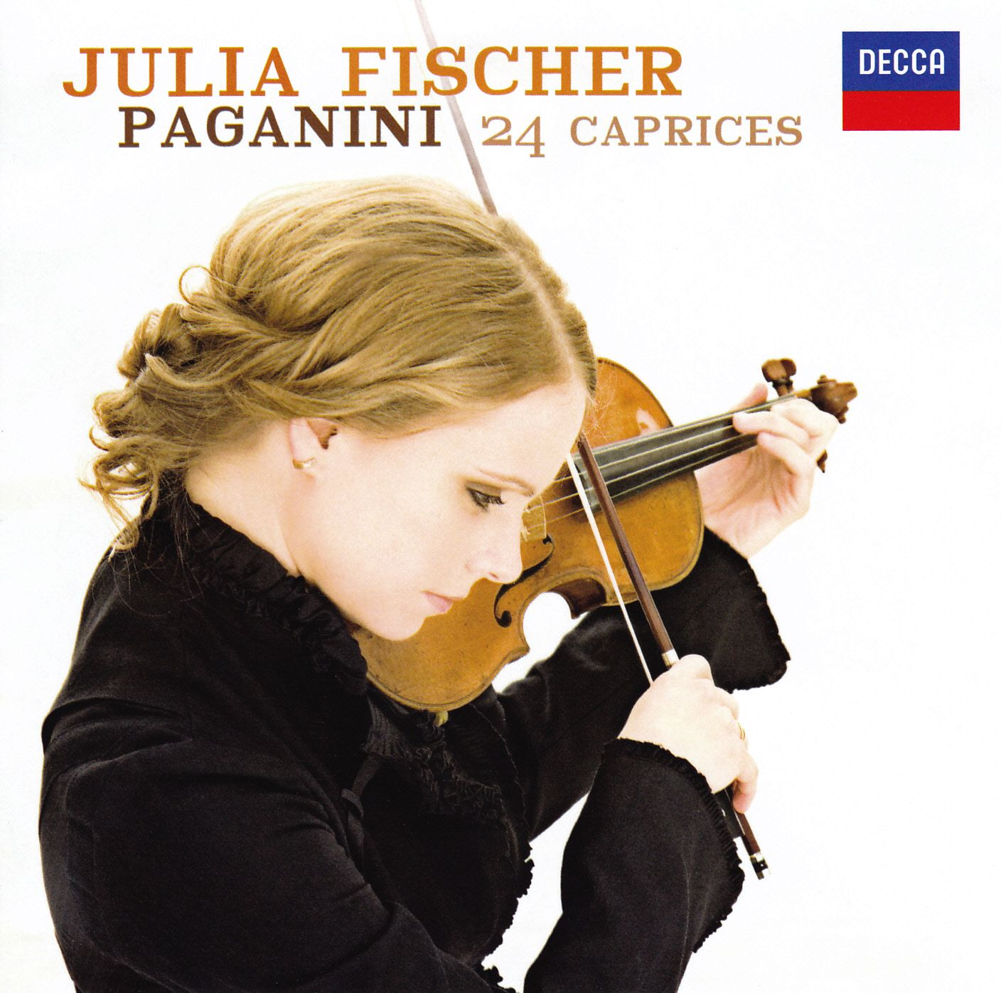 paganini 24 caprices by julia fischer music charts. Black Bedroom Furniture Sets. Home Design Ideas