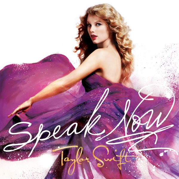 Taylor Swift - Speak Now album cover