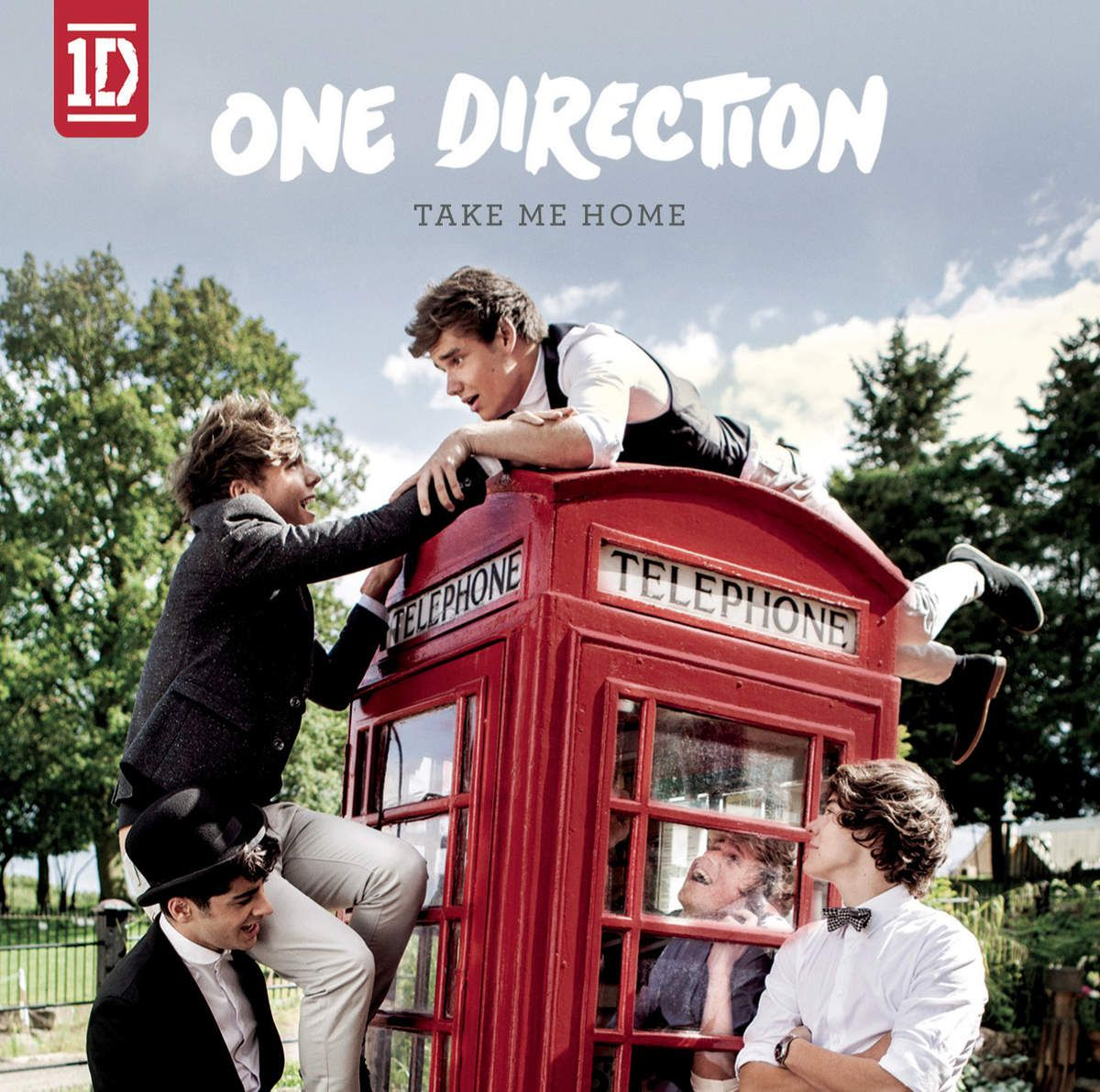 One Direction - Take Me Home album cover