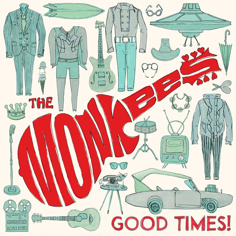 The Monkees - Good Times! album cover