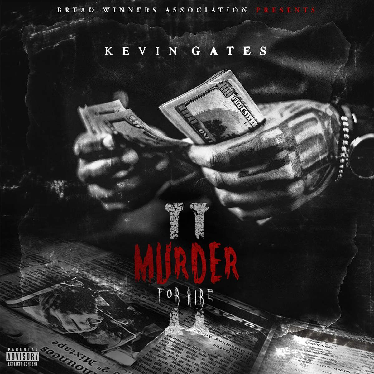 Kevin Gates - Murder For Hire Ii album cover
