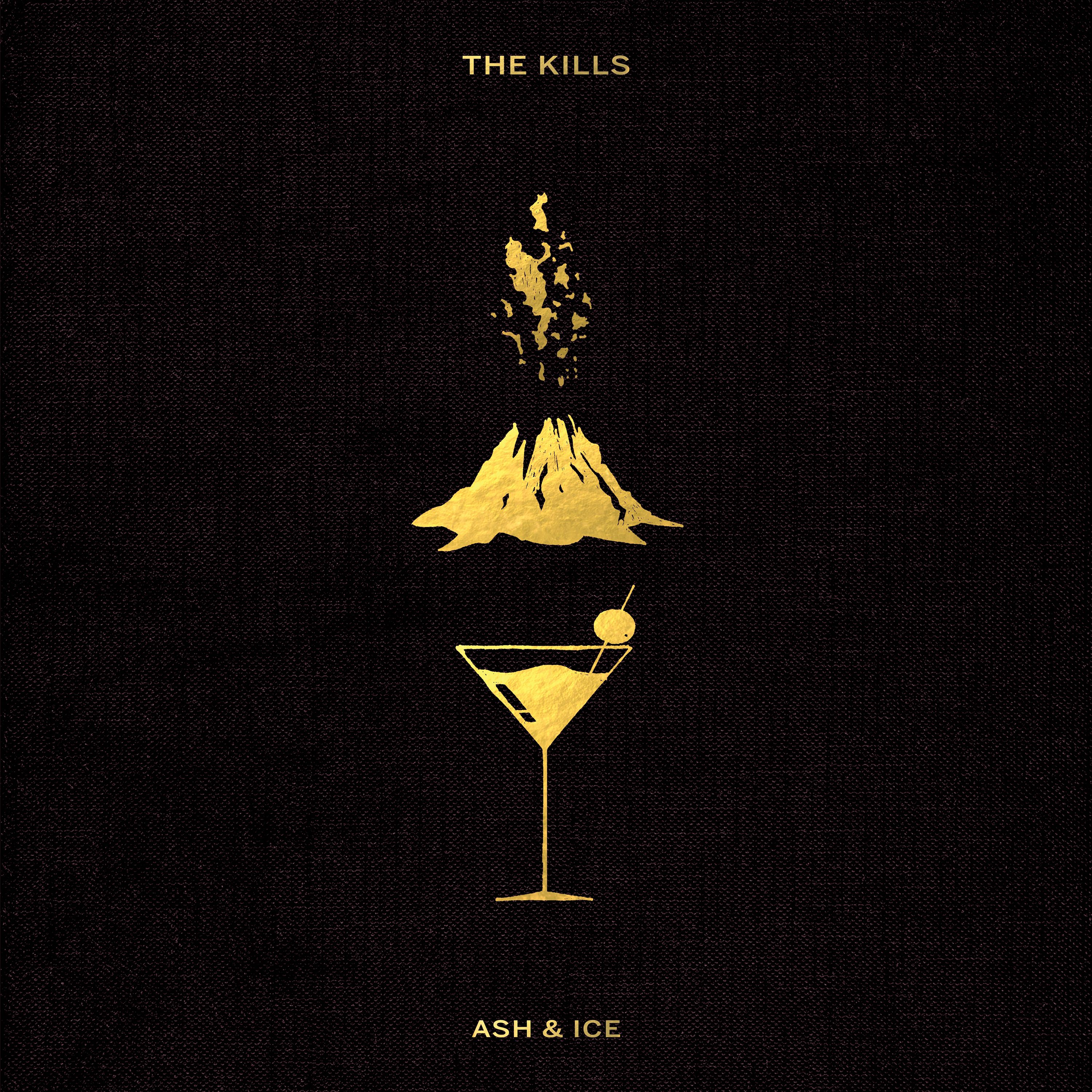 The Kills - Ash & Ice album cover