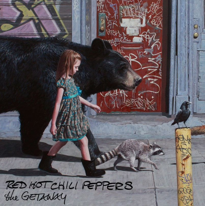 Red Hot Chili Peppers - The Getaway album cover