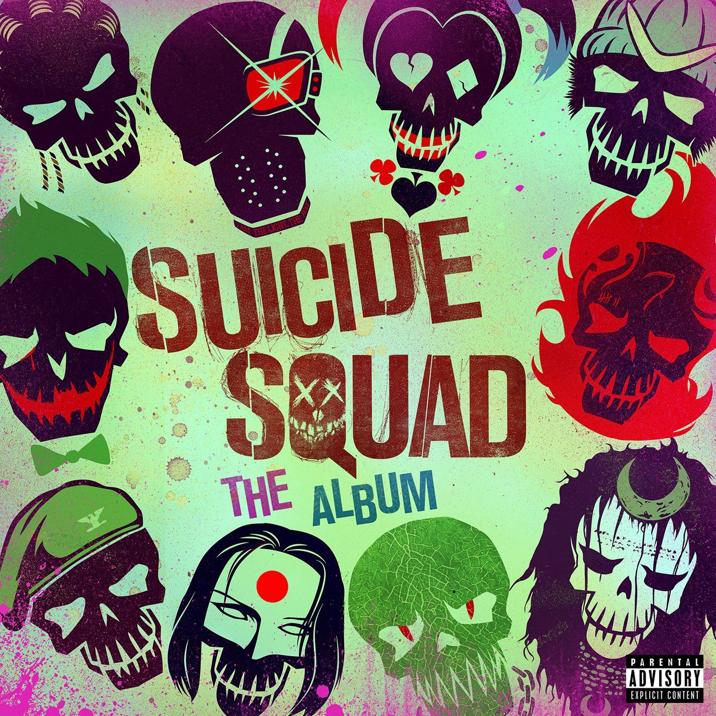 Soundtrack - Suicide Squad - The Album album cover