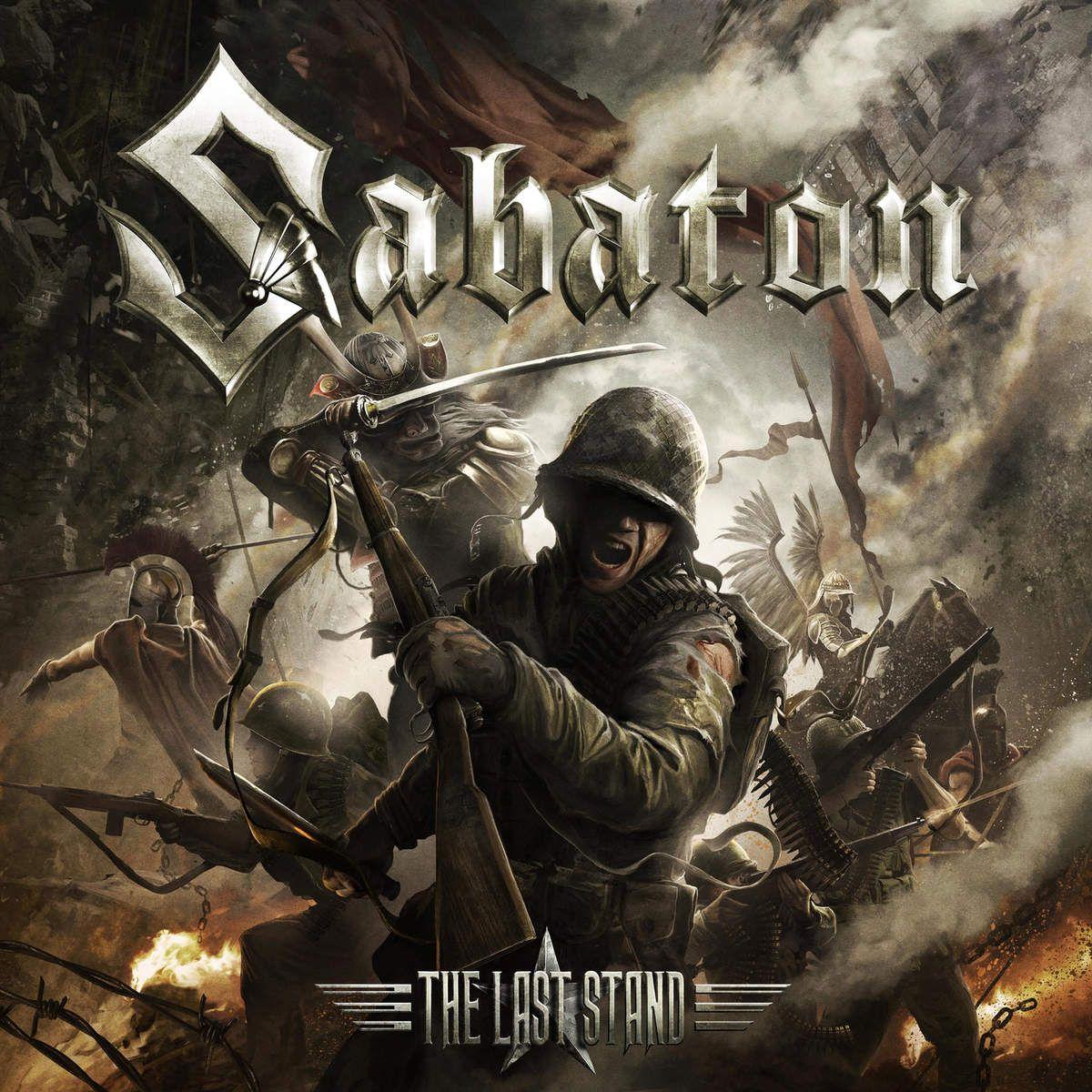 Sabaton - The Last Stand album cover