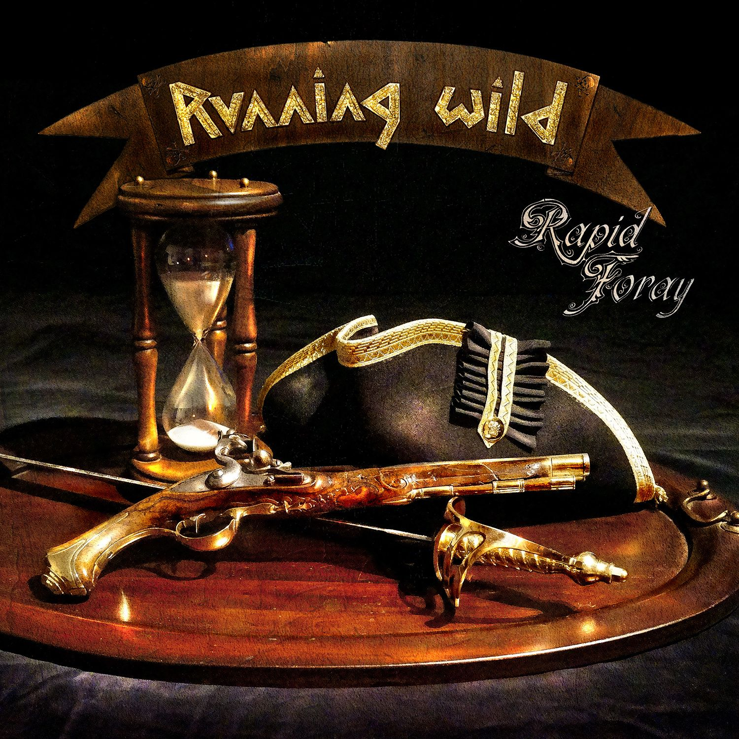 Running Wild - Rapid Foray album cover