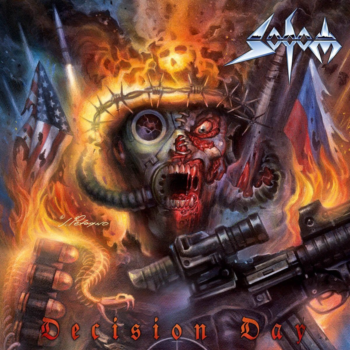 Sodom - Decision Day album cover