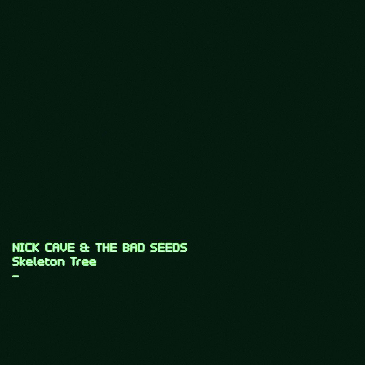 Nick Cave - Skeleton Tree album cover