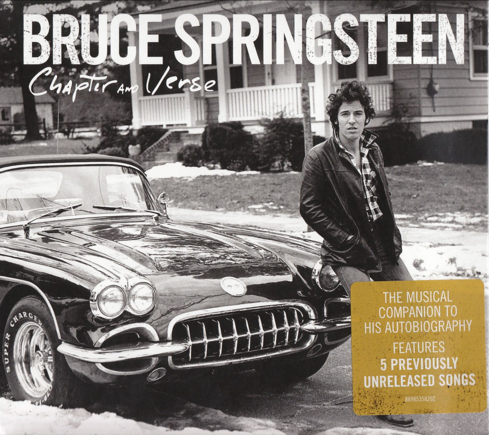 Bruce Springsteen - Chapter And Verse album cover