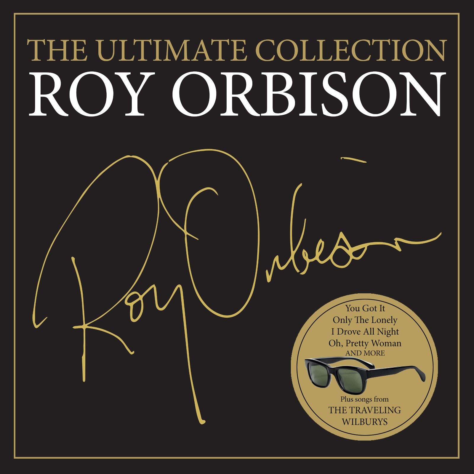 Roy Orbison - The Ultimate Collection album cover