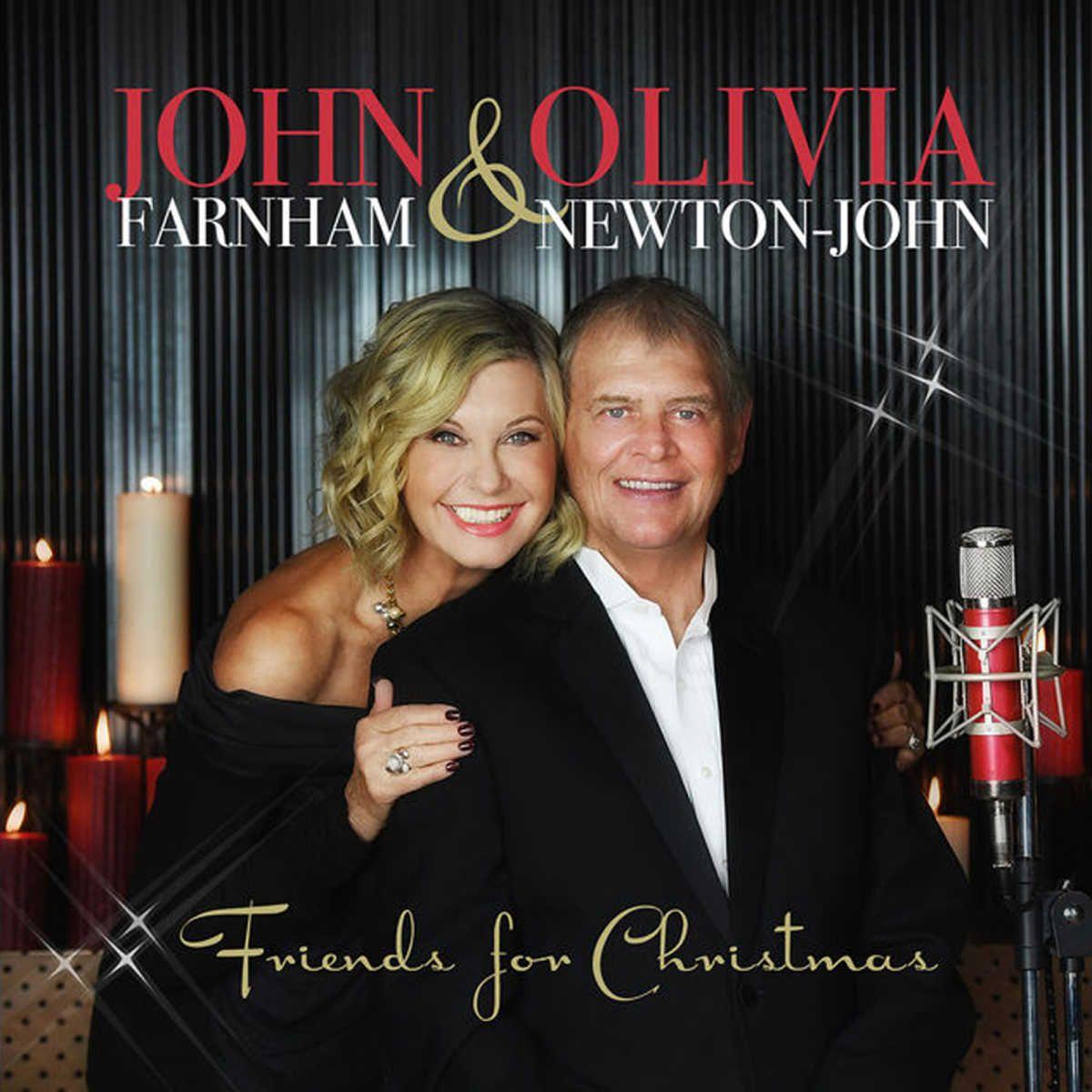 John Farnham - Friends For Christmas album cover