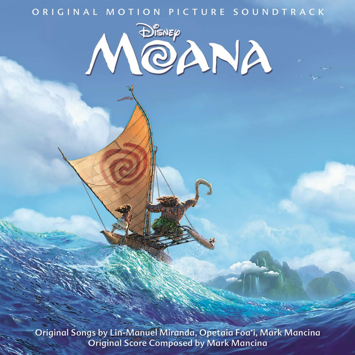 Soundtrack - Moana album cover
