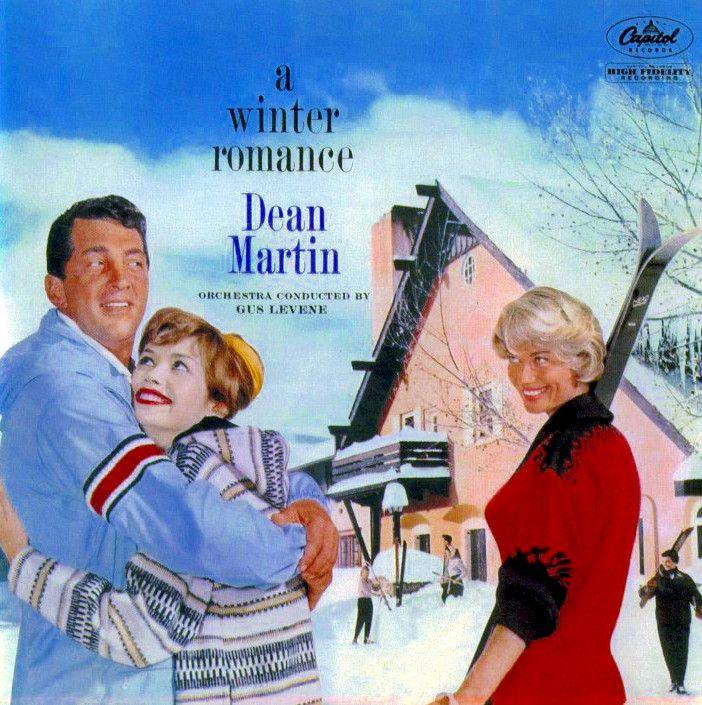 Dean Martin - A Winter Romance album cover
