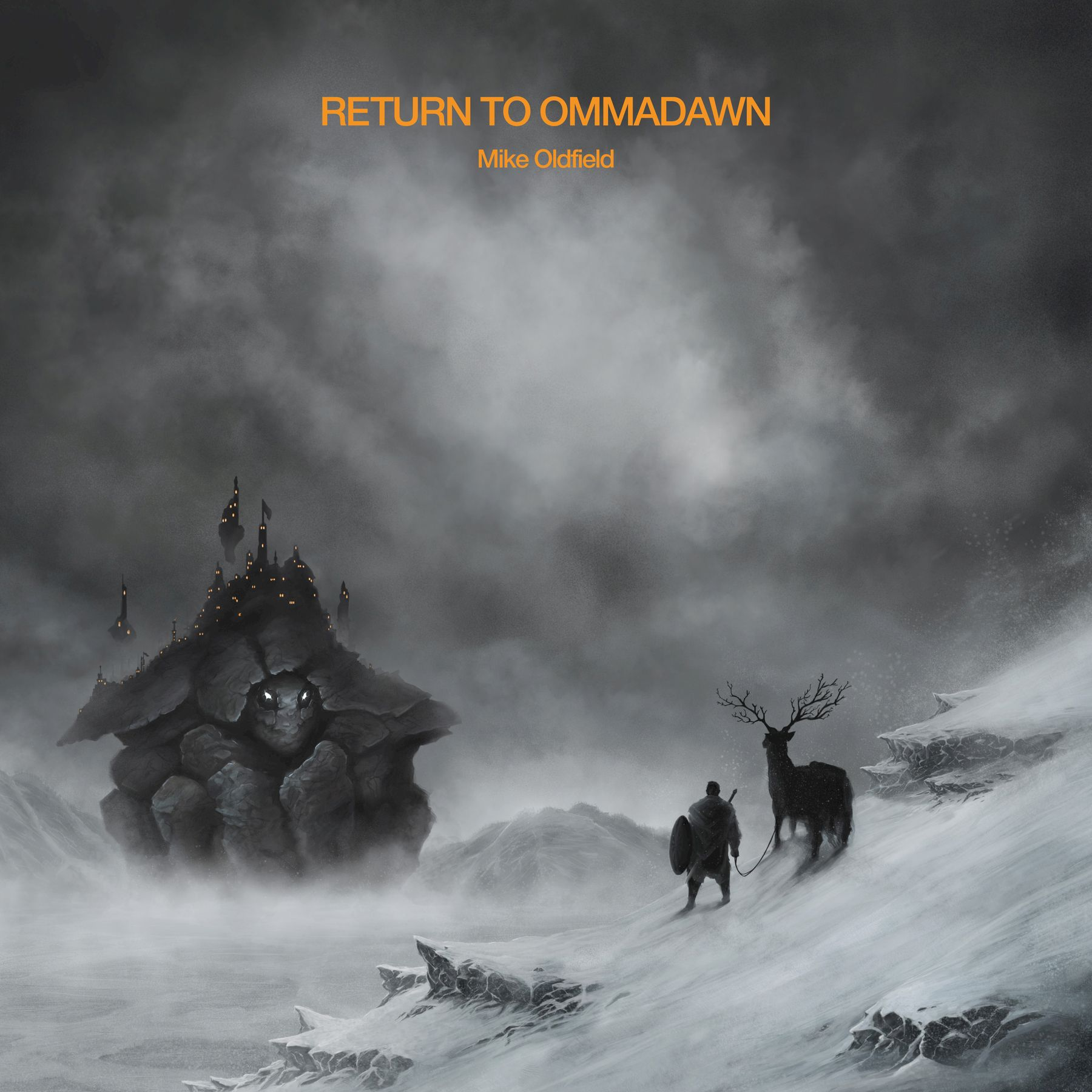 Mike Oldfield - Return To Ommadawn album cover