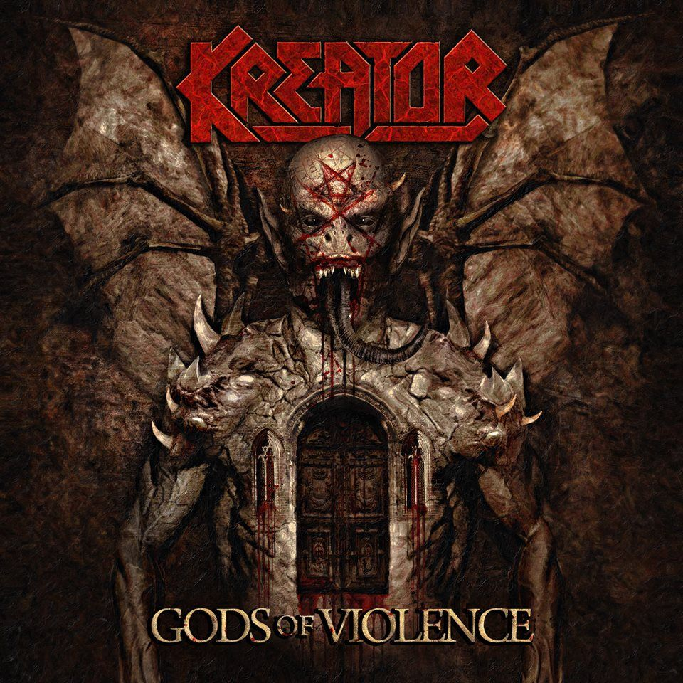 Kreator - Gods Of Violence album cover