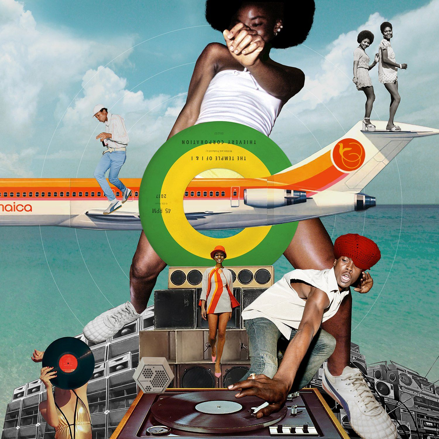 Thievery Corporation - The Temple Of I & I album cover