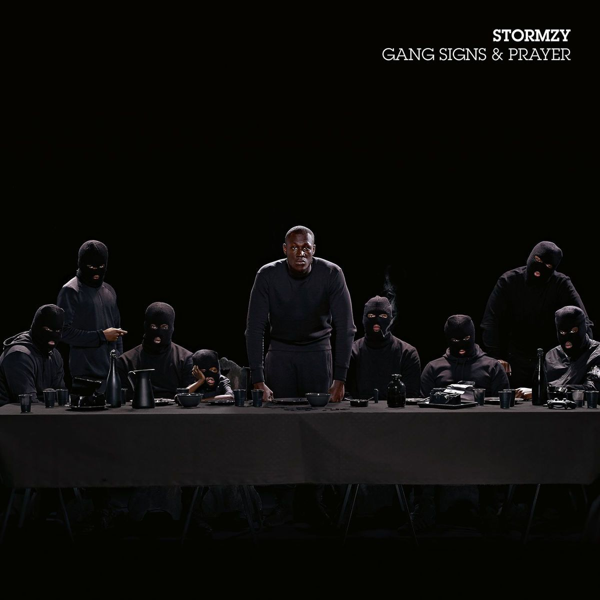 Stormzy - Gang Signs And Prayer album cover