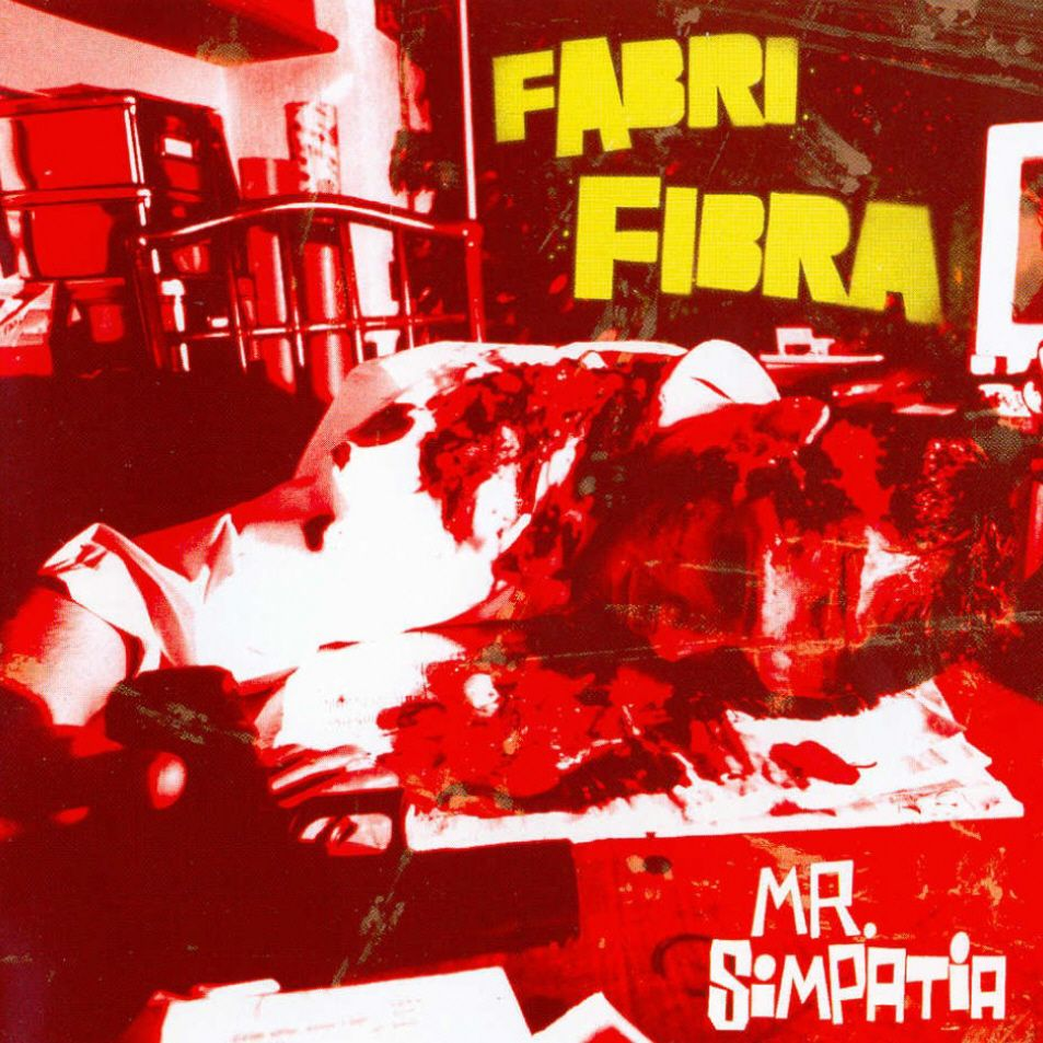 Fabri Fibra - Mr. Simpatia album cover