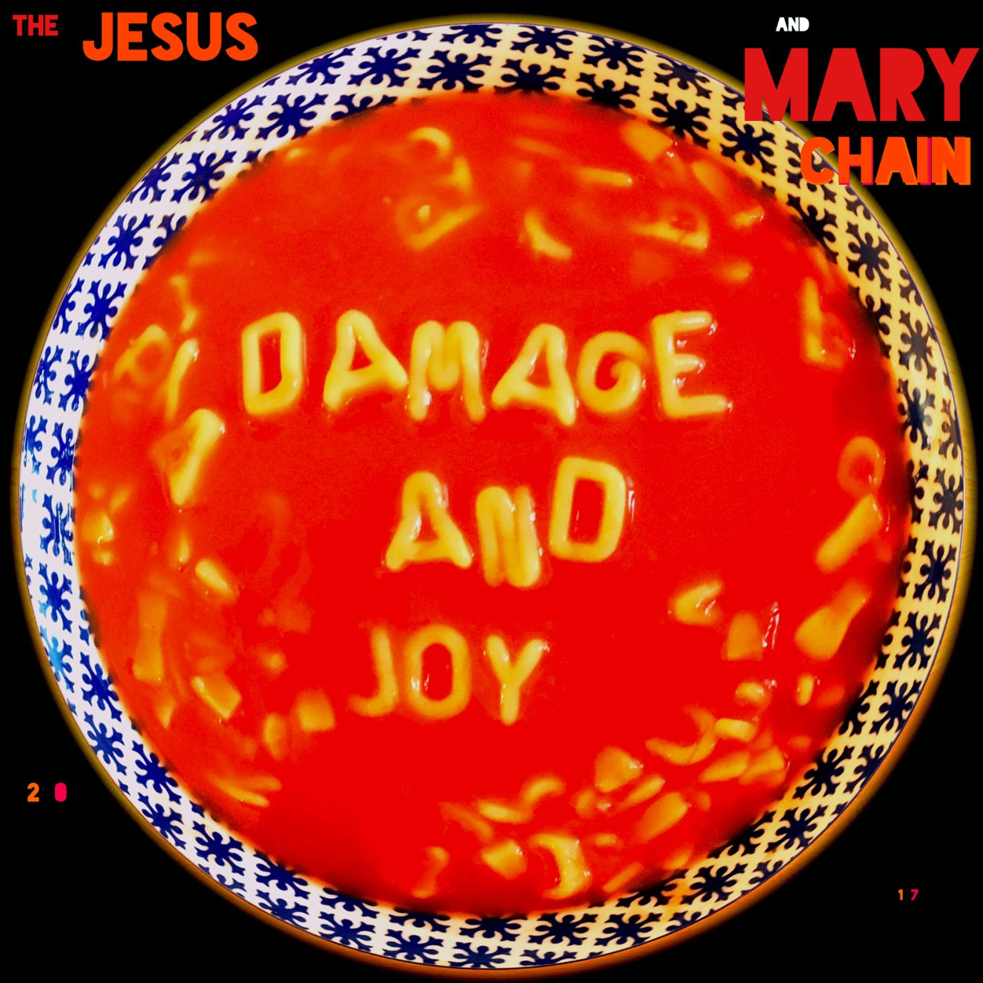 The Jesus and Mary Chain - Damage And Joy album cover