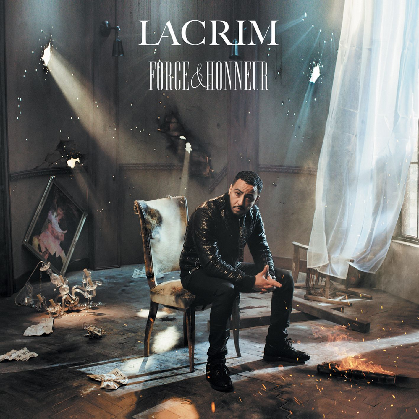 Lacrim - Force & Honneur album cover