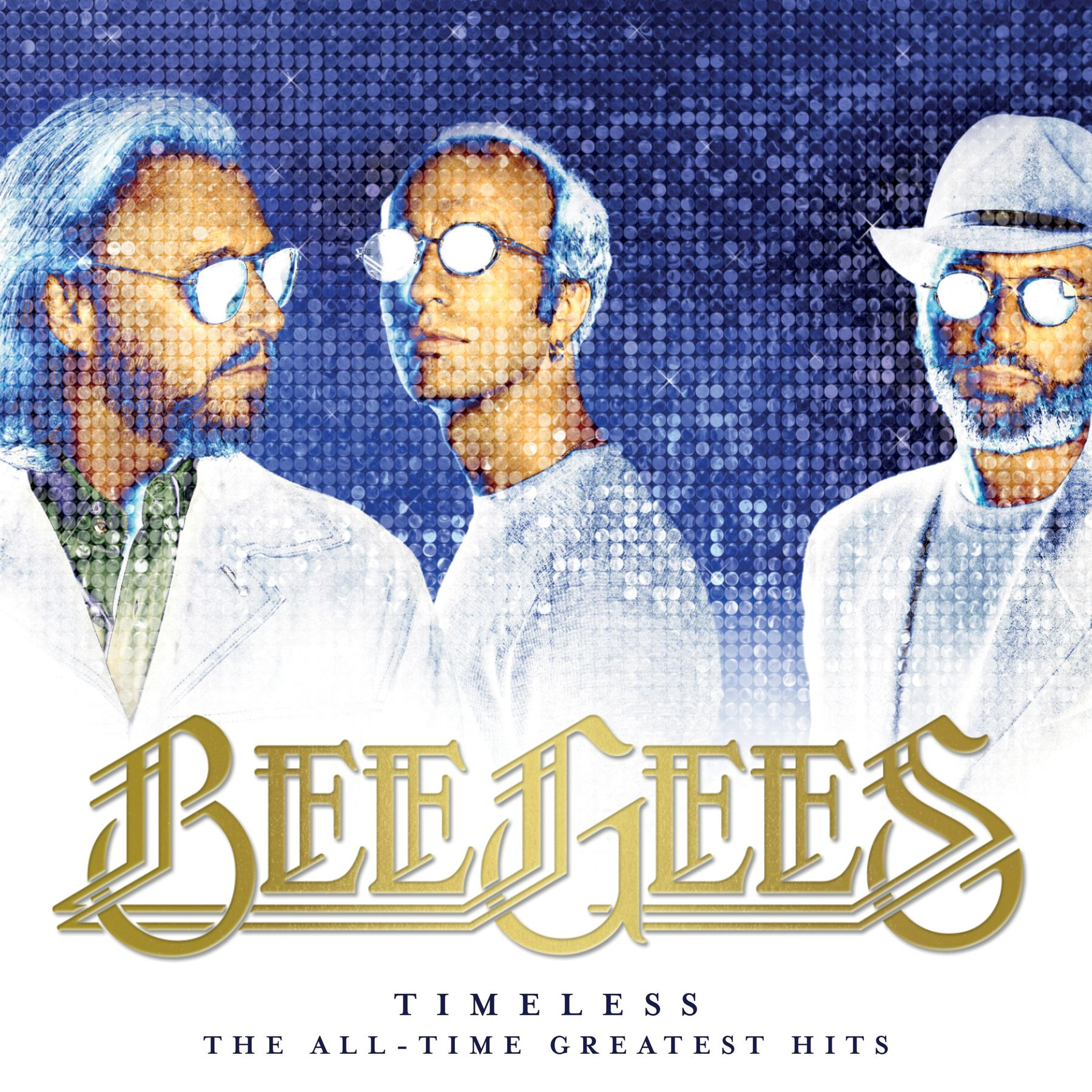 Bee Gees - Timeless: The All-time Greatest Hits album cover