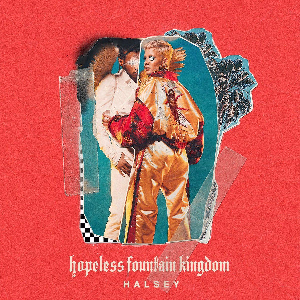 Halsey - Hopeless Fountain Kingdom album cover
