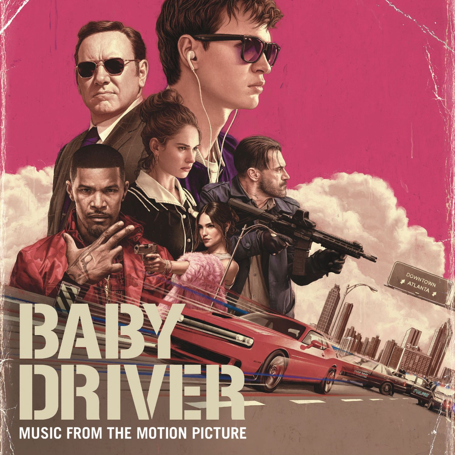 Soundtrack - Baby Driver album cover