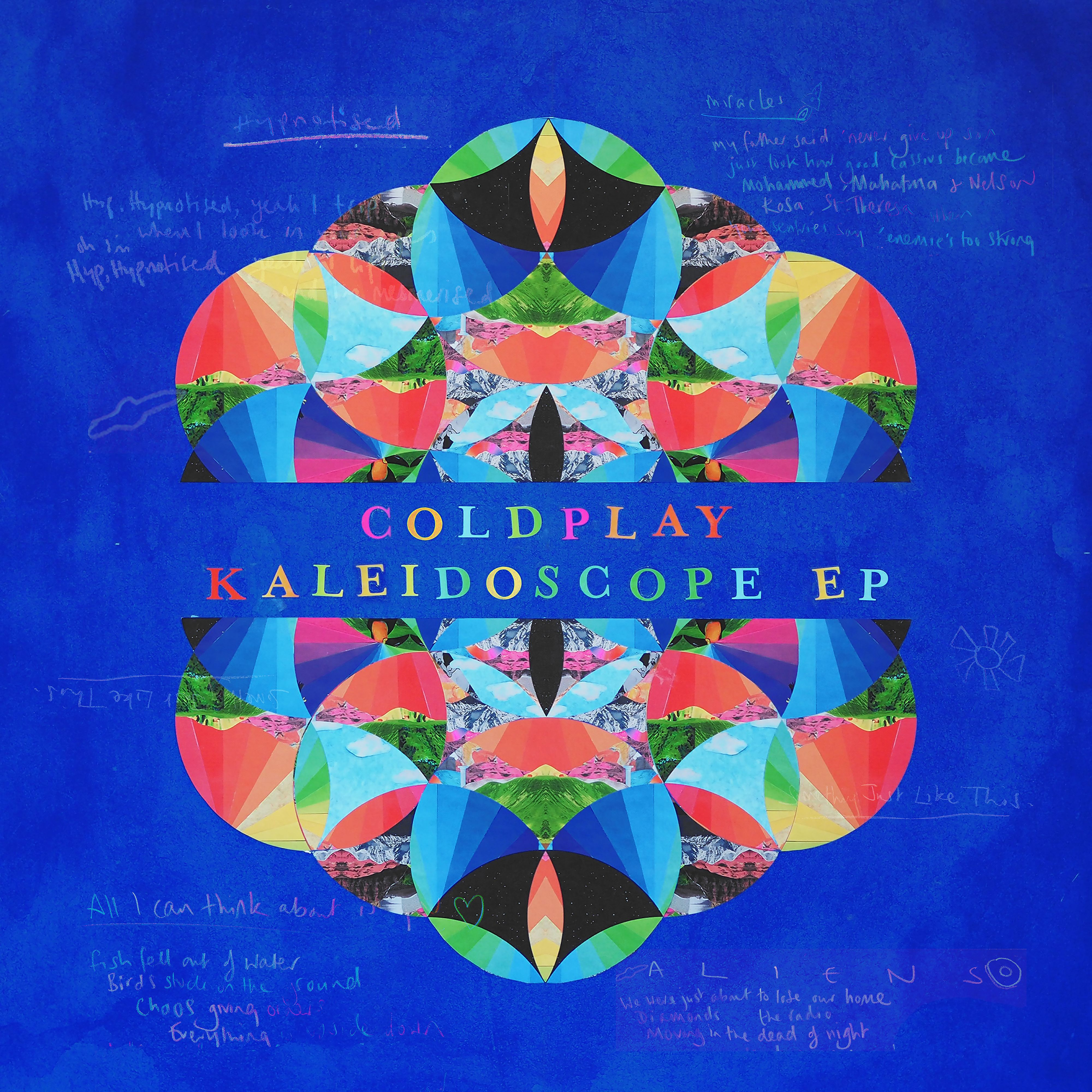 Coldplay - Kaleidoscope album cover