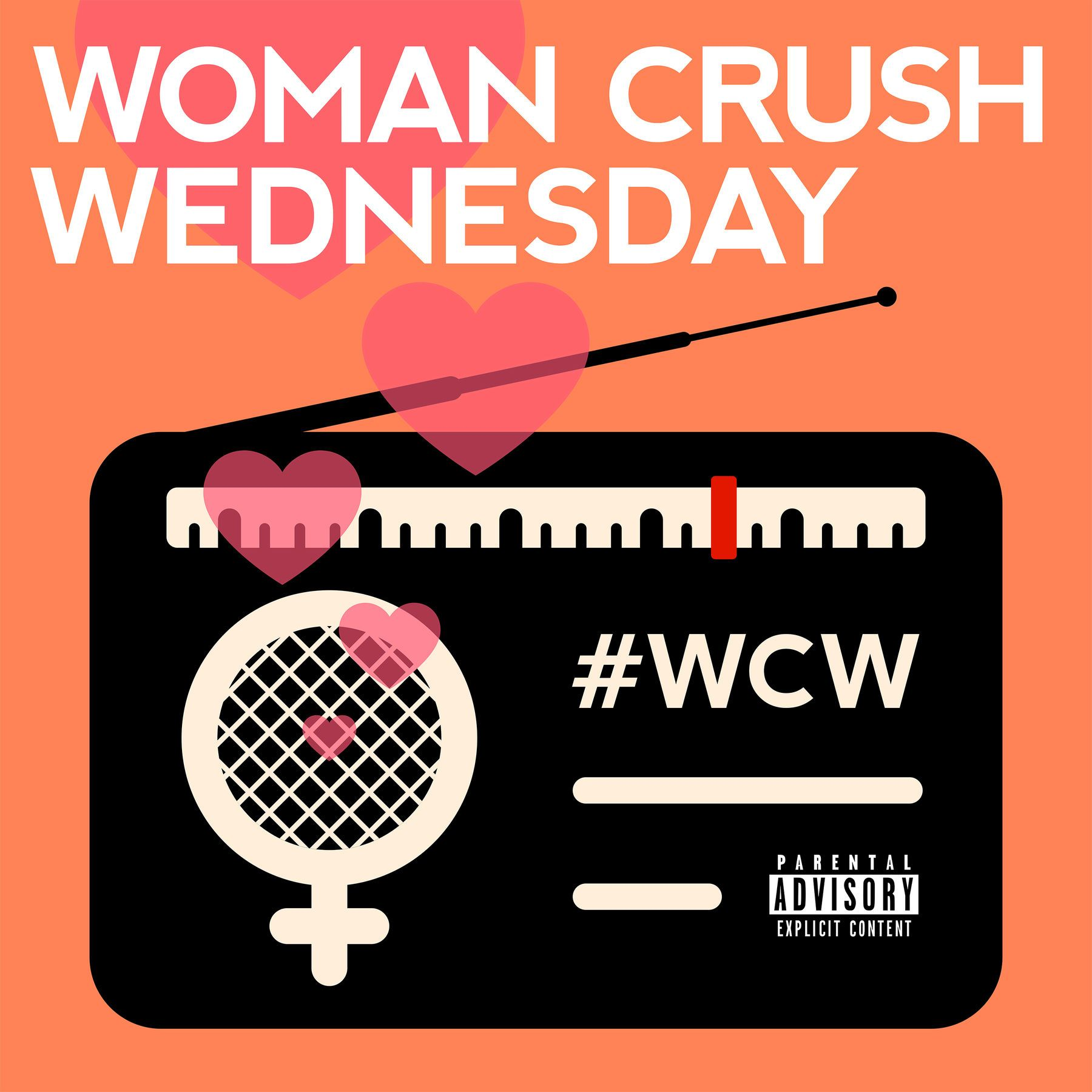 Various Artists - Woman Crush Wednesday album cover