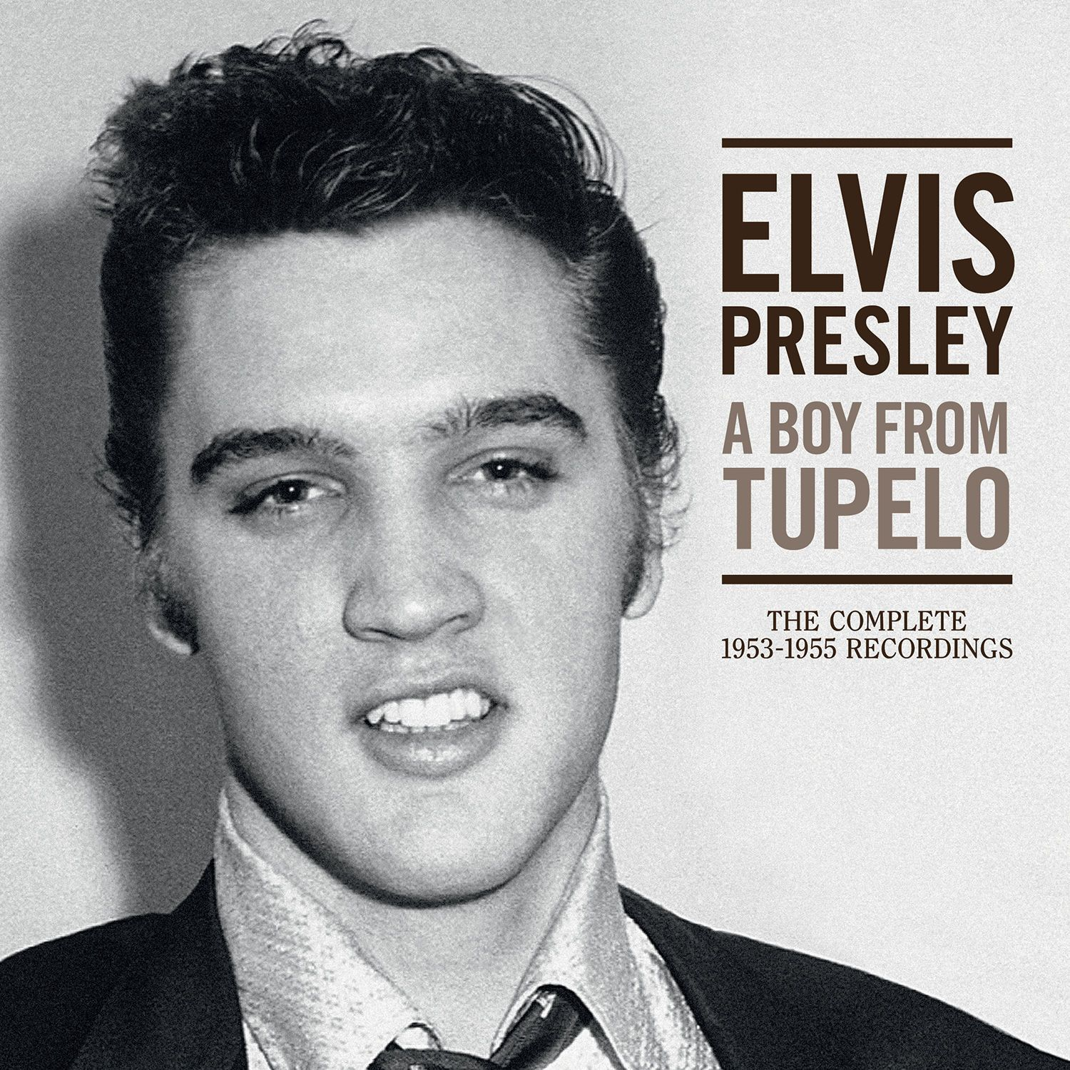 Elvis Presley - A Boy From Tupelo - The Complete 1953-1955 Recordings album cover