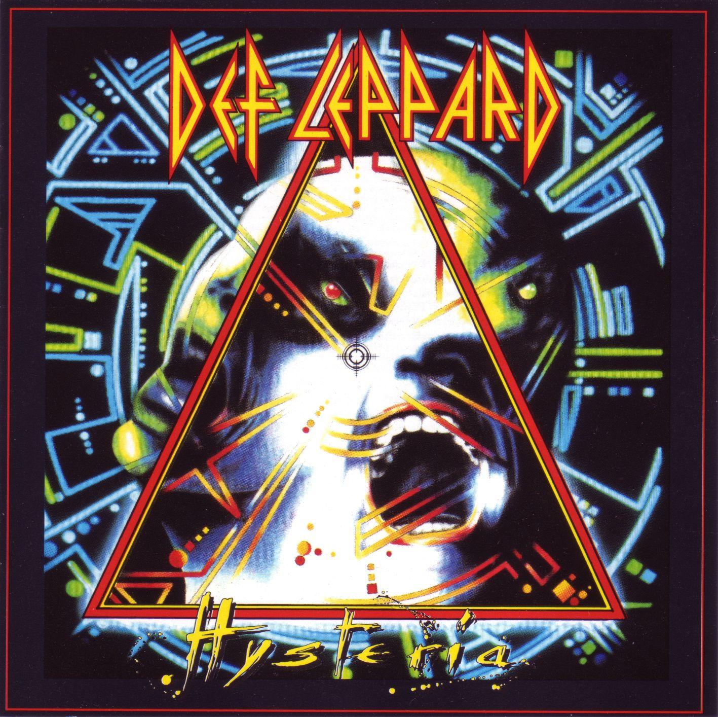 Def Leppard - Hysteria album cover