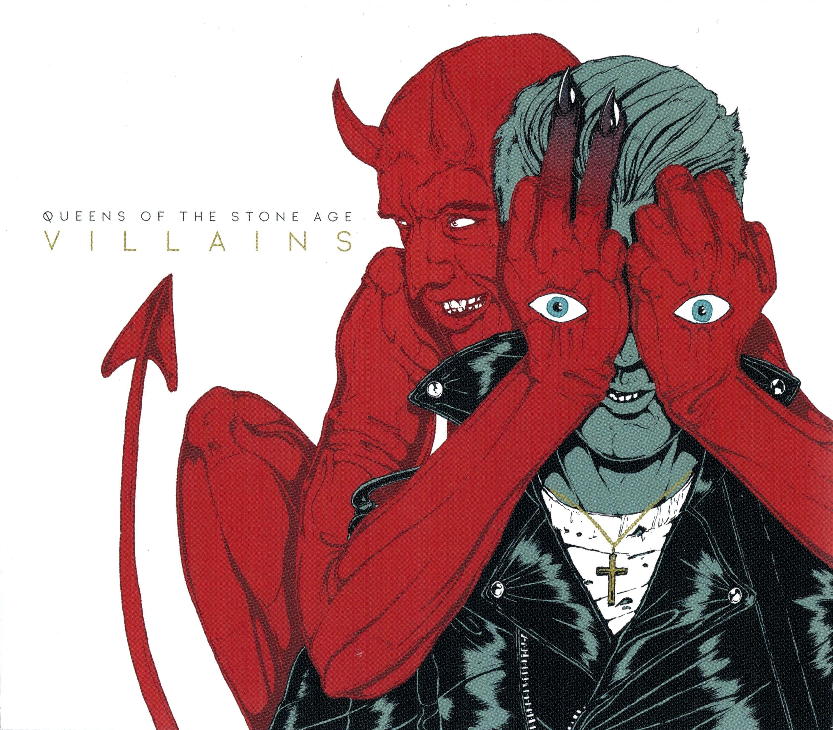 Queens Of The Stone Age - Villains album cover