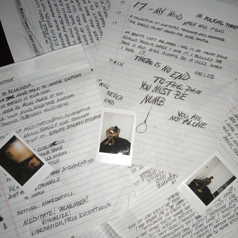 XXXTentacion - 17 album cover