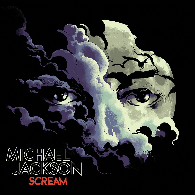 Michael Jackson - Scream album cover