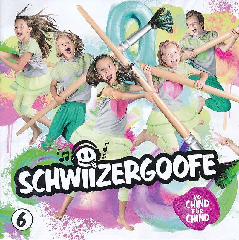 Schwiizergoofe - 6 album cover
