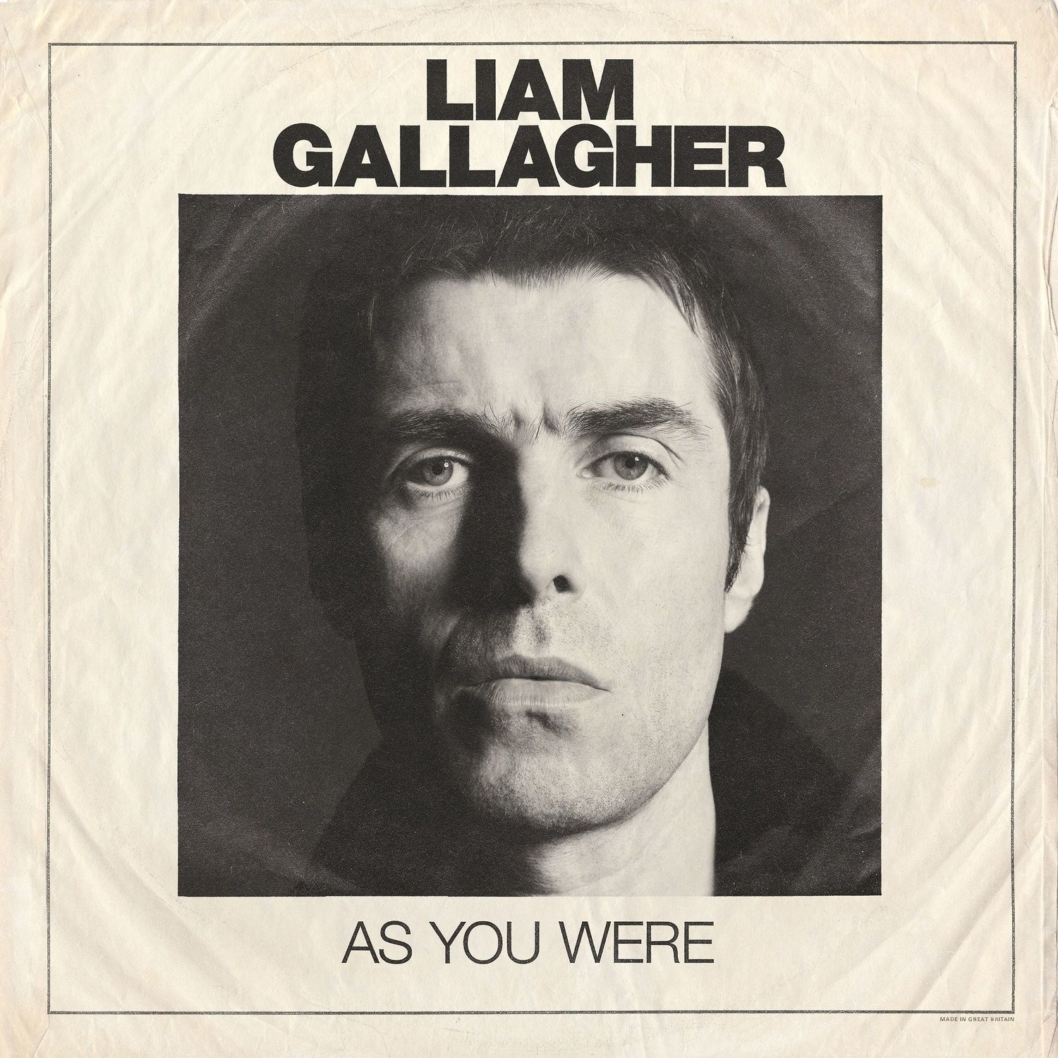 Liam Gallagher - As You Were album cover