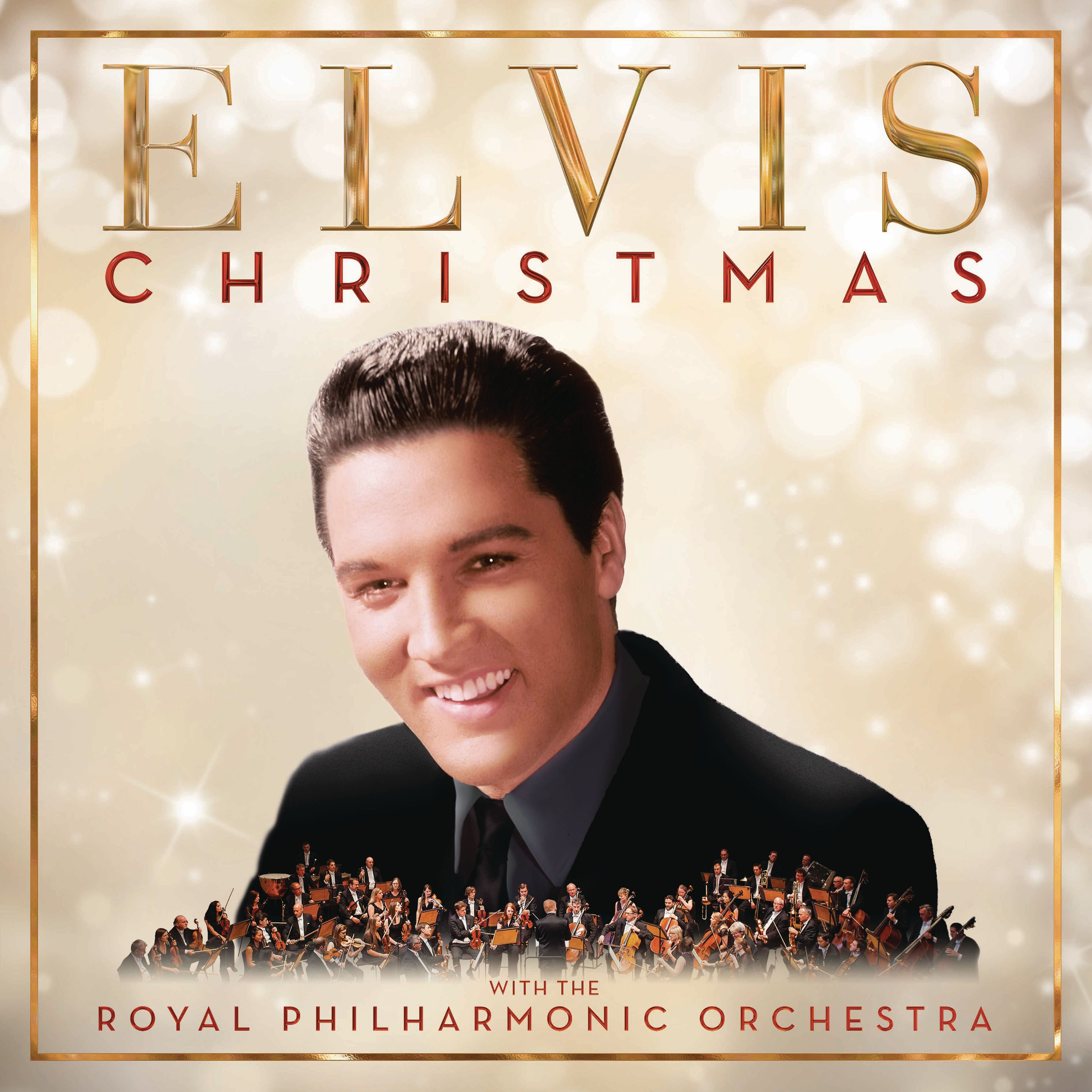 Elvis Presley - Christmas With Elvis And The Royal Philharmonic Orchestra album cover