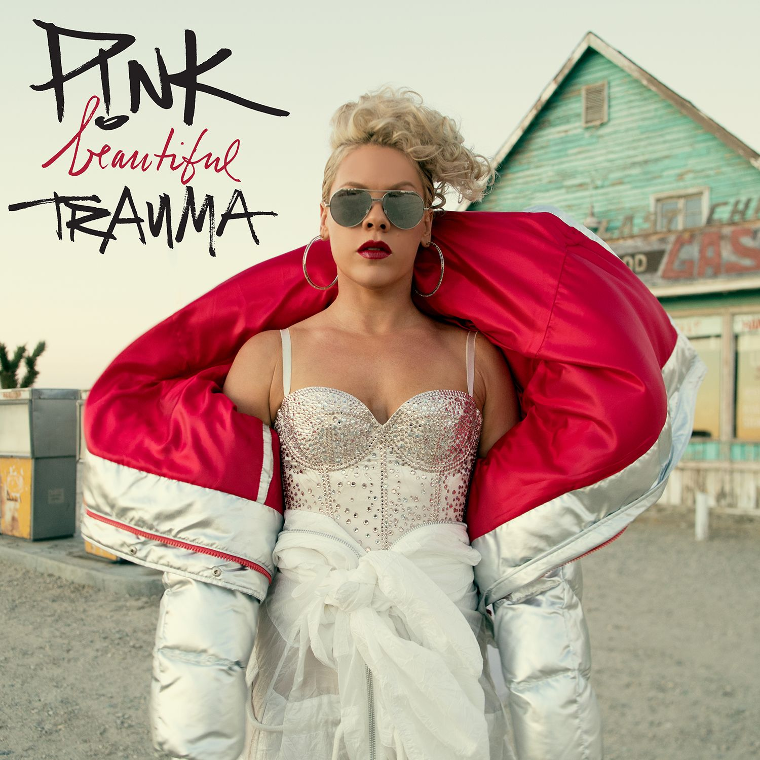 P!nk - Beautiful Trauma album cover