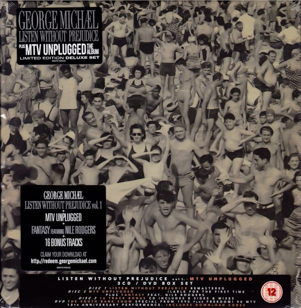 George Michael - Listen Without Prejudice Volume 1 / Mtv Unplugged album cover